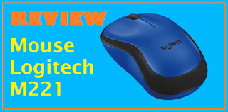 Review Mouse Logitech M221 Silent Wireless