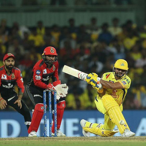 सुरेश रैना आईपीएल में 5000 रन बनाने वाले पहले खिलाड़ी बने