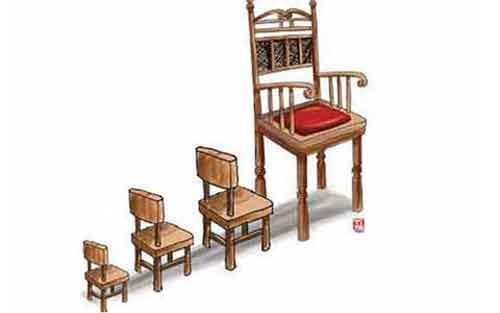 kursi kekuasaan diperebutkan