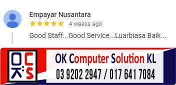 LOKASI OK COMPUTER SOLUTION KUALA LUMPUR | KEDAI REPAIR LAPTOP CHERAS 19