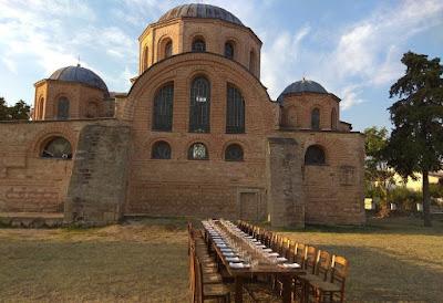 Ένα Βυζαντινό Δειπνοτράπεζο στην Κοσμοσώτειρα 867 χρόνια μετά…