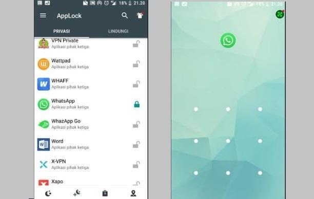 Cara Mengunci Aplikasi Whatsapp di HP Android Semua Merek