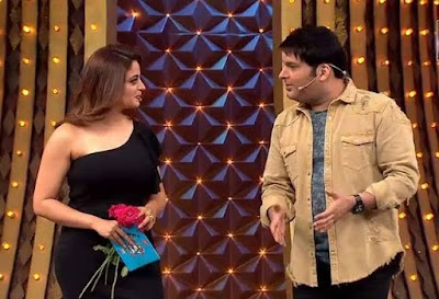 Kapil Sharma's show's pretty actress Neha Pendse was asked to sleep on the bed