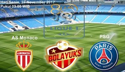 Prediksi Bolayuks: AS Monaco vs PSG, 27 November 2017