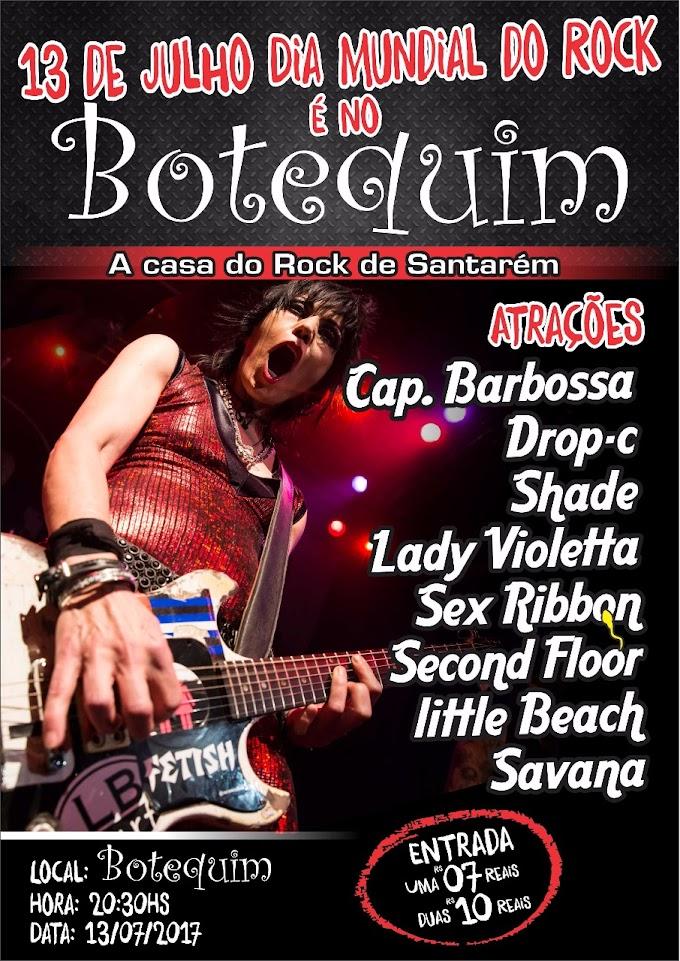 Dia Mundial do Rock reúne bandas em Santarém