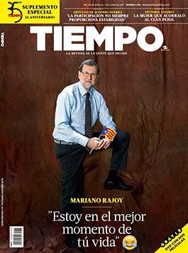 el villano arrinconado, humor, chistes, reir, satira, Mariano Rajoy, cataluña, independentistas, revista tiempo