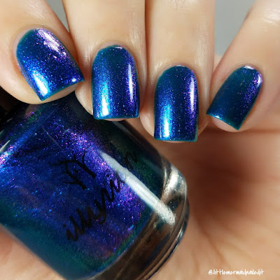 Illyrian Polish Nil Collection Aurora Swatches and Review