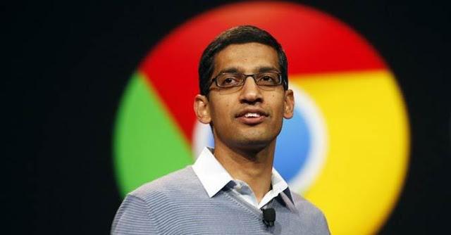 sundar pichai founder google chrome