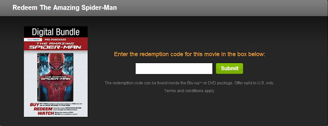 How to redeem codes on Vudu