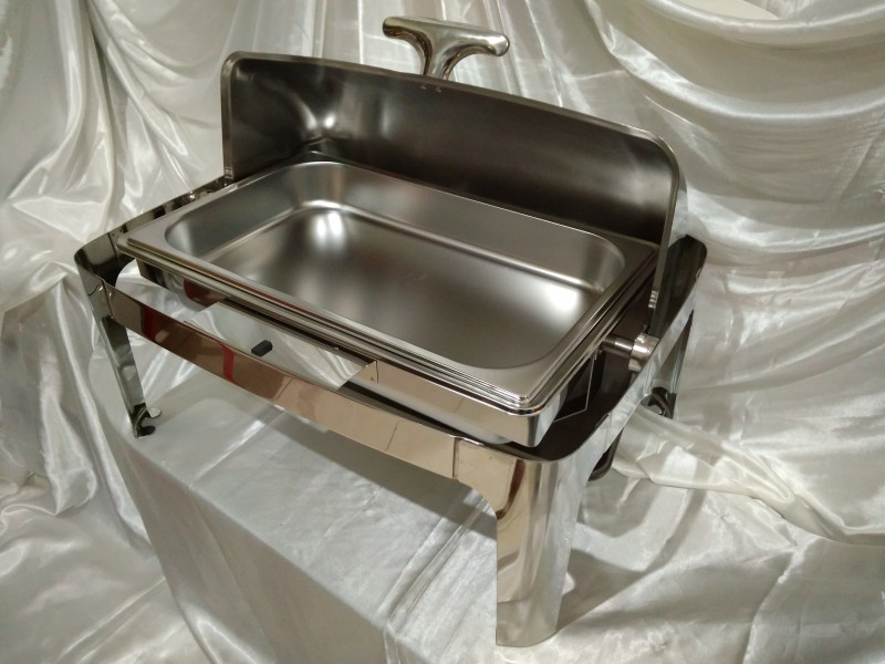 Square Rolltop Chaffing Dish Grade B 2 800x600