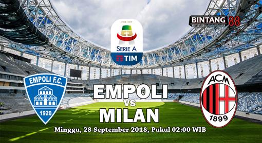 Prediksi Empoli vs AC Milan 28 September 2018