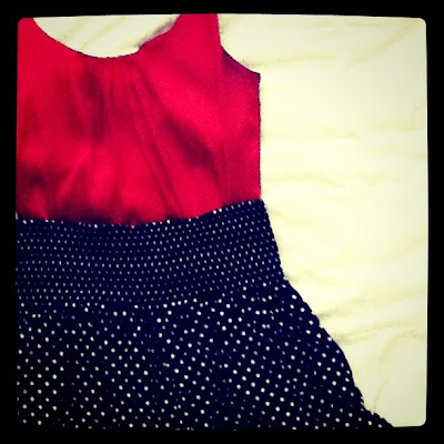 Skirts and Polka Dots