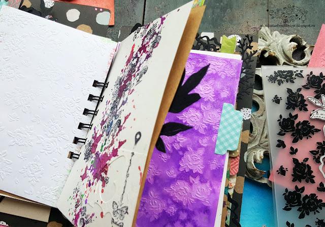 @nastyalena #scrapbooking #mixedmedia #cardmaking