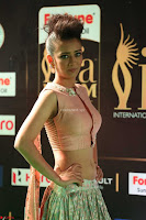 Akshara Haasan in Peachy Crop Top Choli Skirt at IIFA Utsavam Awards 70.JPG