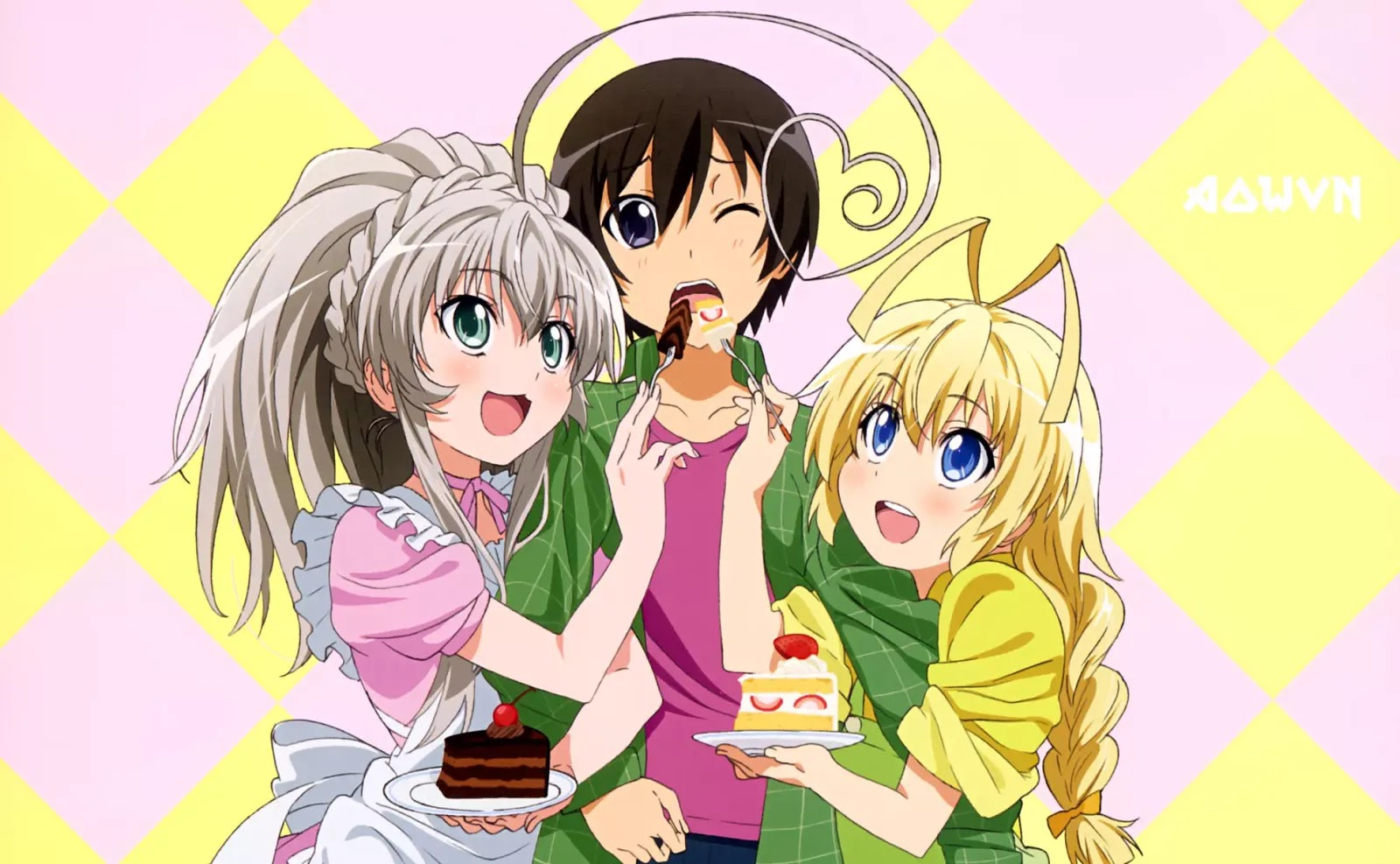 AowVN.org m%2B%25283%2529 - [ Anime 3gp Mp4 ] Haiyore! Nyaruko-San 1 + 2 + OVA | Vietsub - Harem hài bựa hay