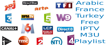 IPTV M3U France Arabic Turkey FREE Playlist VLC