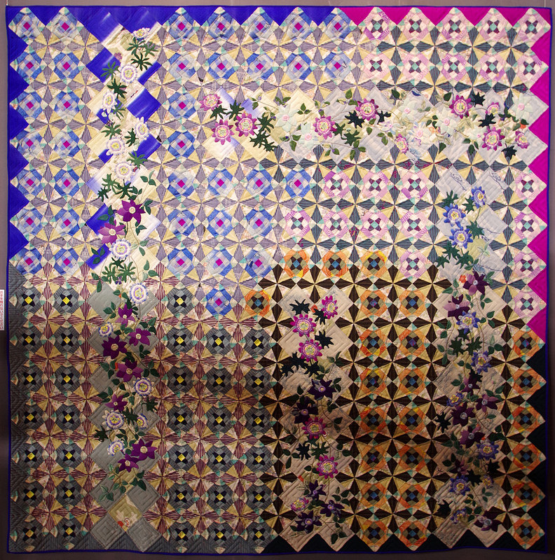 Beautiful Faces of the Seasons by Yoshiko Yokoi | Tokyo Quilt Festival 2018 | © Red Pepper Quilts 2018