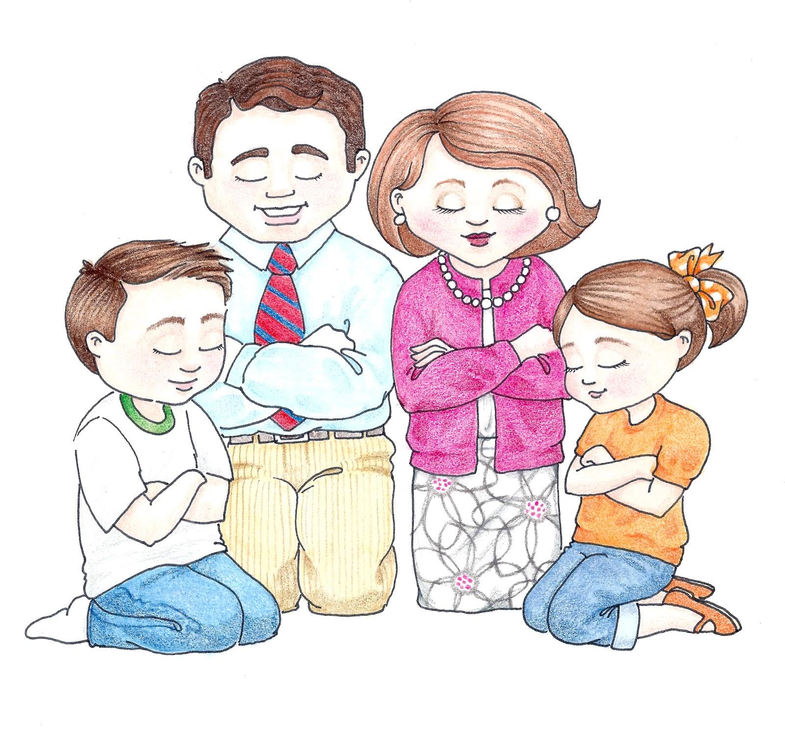 susan fitch design: Family Prayer II