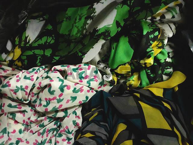 Chuyên Bán và giao hàng Vải ký giá rẻ vải tôn - lanh, voan, chiffon họa tiết tại chi nhánh Thủ Dầu Một