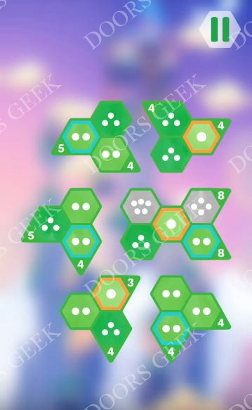 Hexologic Level 54 Solution, Cheats, Walkthrough for android, iphone and PC Steam