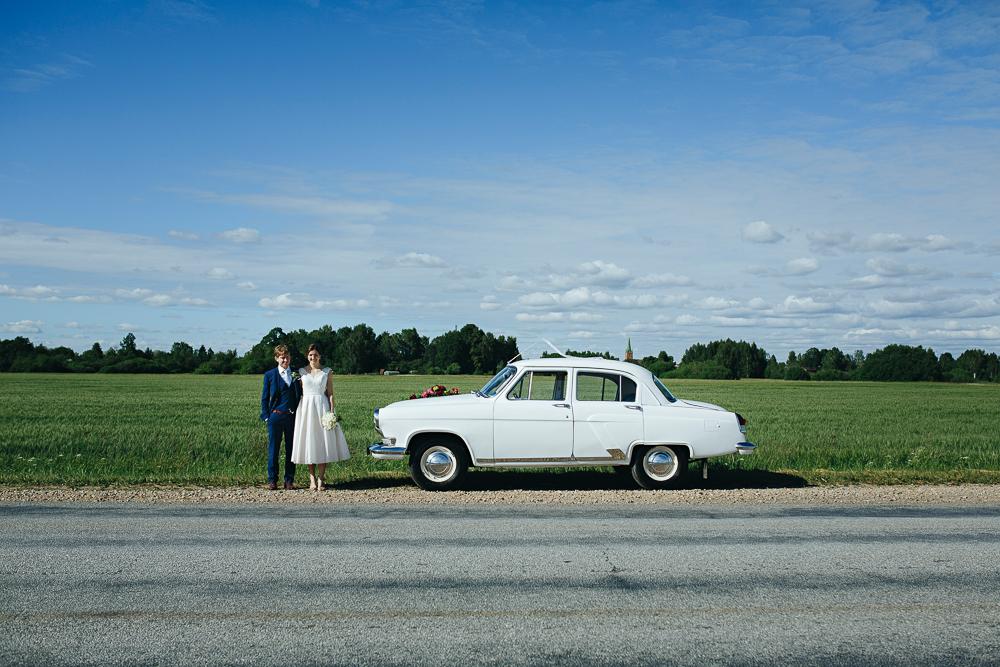 kāzu pāris volga lauks