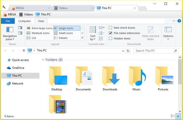 Clover - multi-tab extension for Windows Explorer | Elite