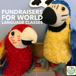 Fundraisers for World Language Classes Spanish French German