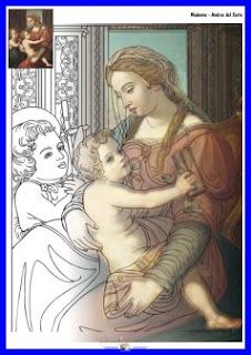 Madonna - Andrea del Sarto - www.professorjunioronline.com