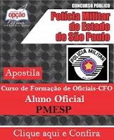 Polícia Militar de SP abre inscrições CFO para 131 vagas de nível médio