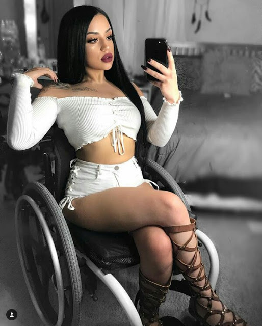 """My Wheelchair Will Never Define Me"" - Beautiful Lady Left a Paraplegic After a Fatal Accident Melts Hearts Online (Photos)"