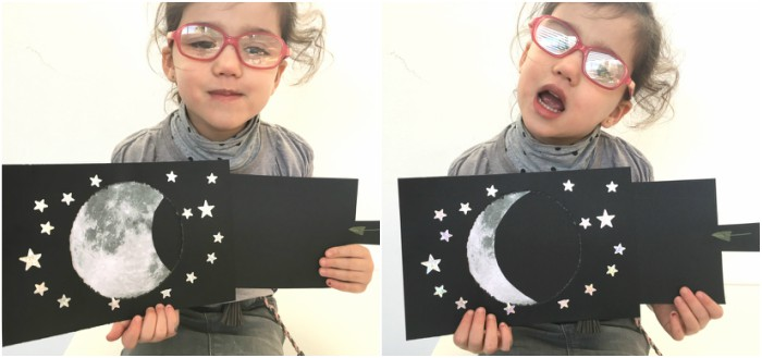 actividades espacio, universo planetas fases luna