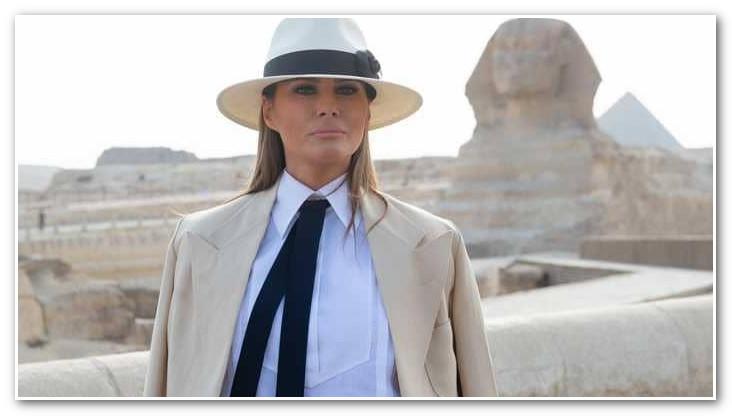 كم أنفقت ميلانيا ترامب خلال 6 ساعات في القاهرة؟