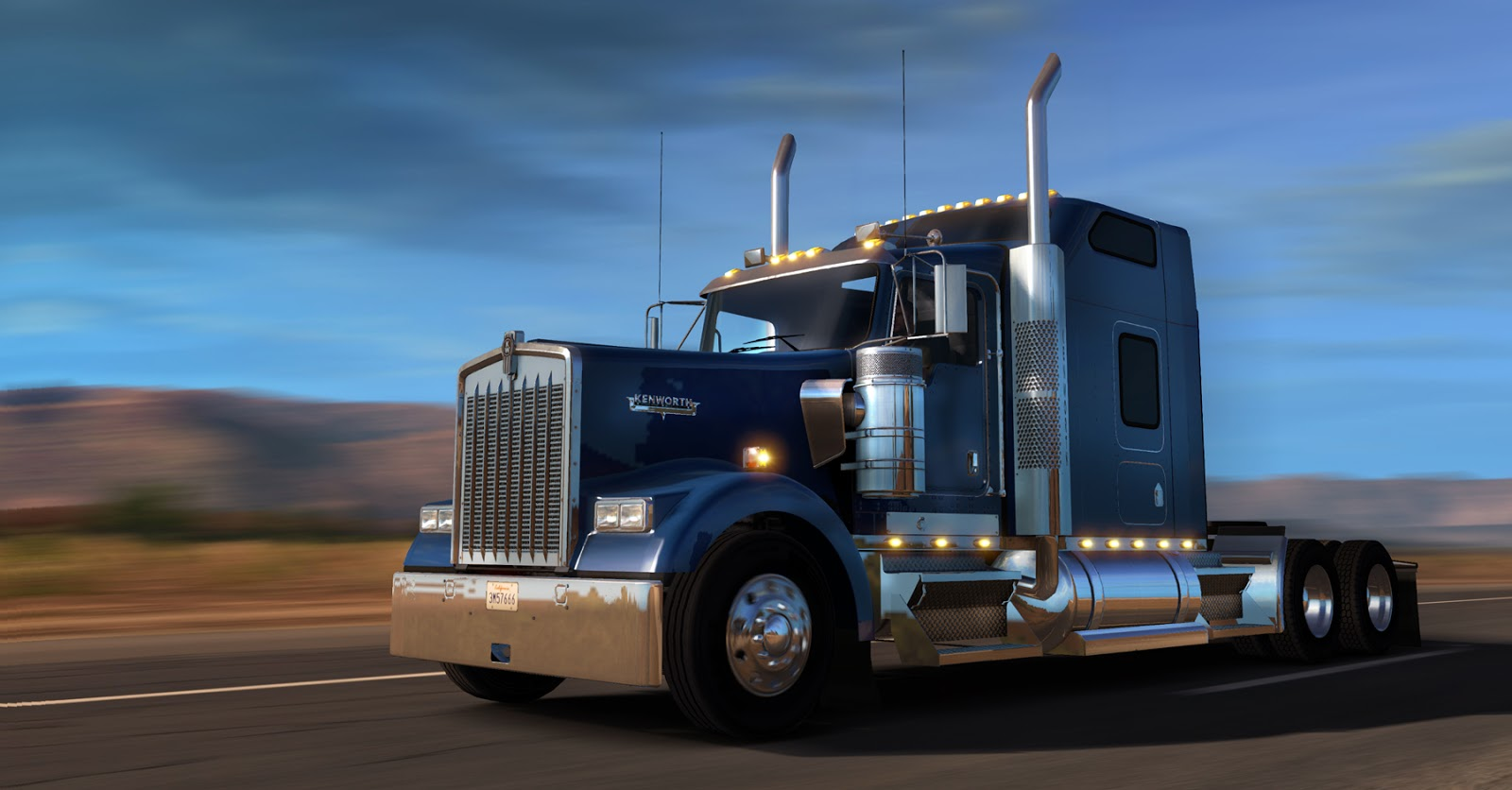 scs software 39 s blog get to drive kenworth w900 now. Black Bedroom Furniture Sets. Home Design Ideas
