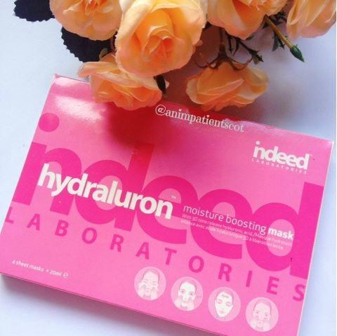 Indeed Laboratories Hydraluron Moisture Boosting Masks
