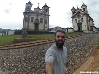Pelourinho, Igreja de São Francisco de Assis e Igreja de Nossa Senhora do Carmo.
