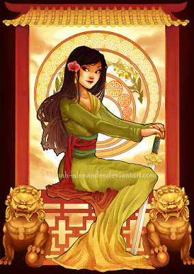Mulan, de Hannah Alexander