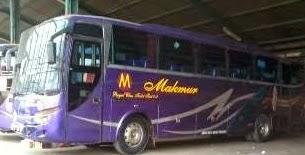 Harga Tiket Bus Makmur dan Halmahera