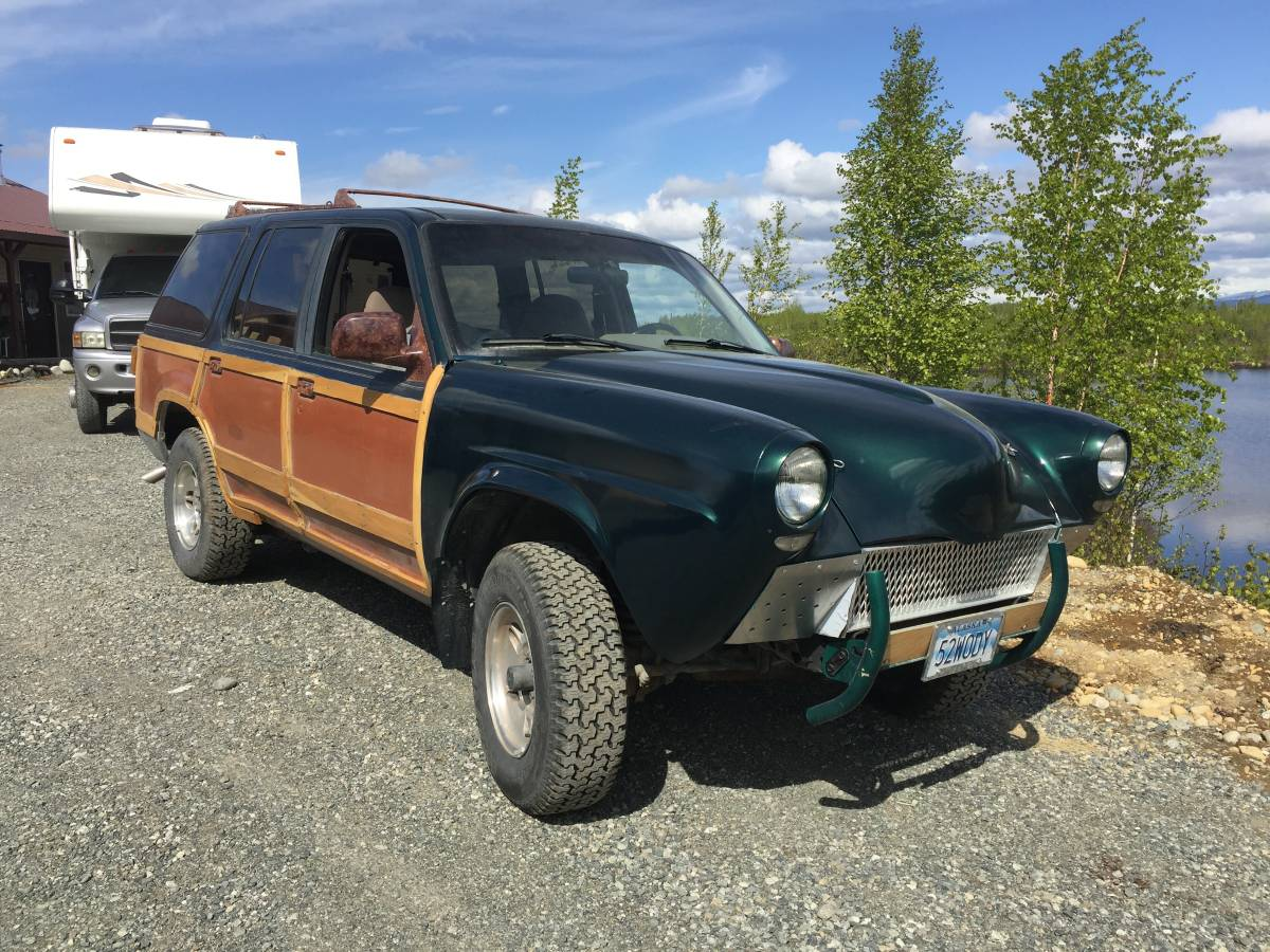 Take a look a this 1992 ford explorer sudebaker woodie lookalike offered for 2700 near anchorage ak via craigslist tip from zach