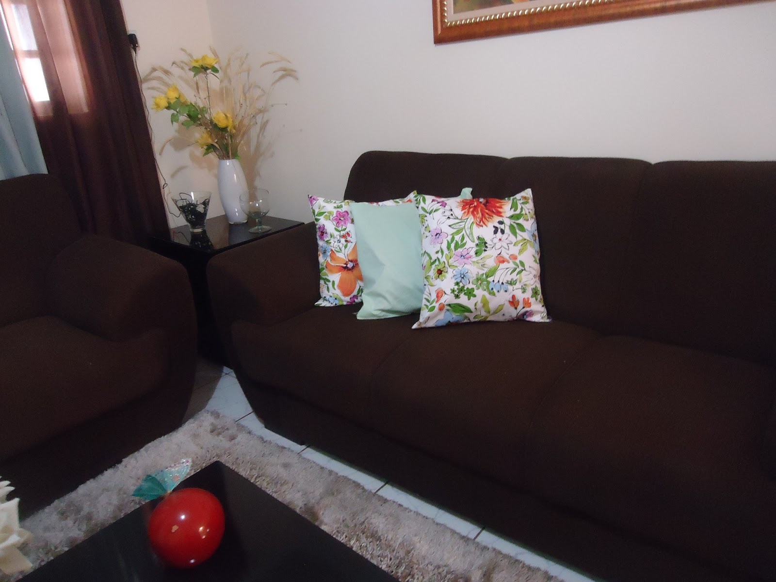 esse sofa ta bom demais blue sofas ikea coisas que sei fazer mudando a sala aos pouquinhos