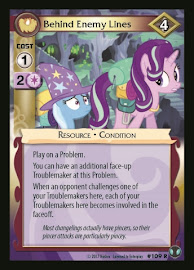 My Little Pony Behind Enemy Lines Defenders of Equestria CCG Card