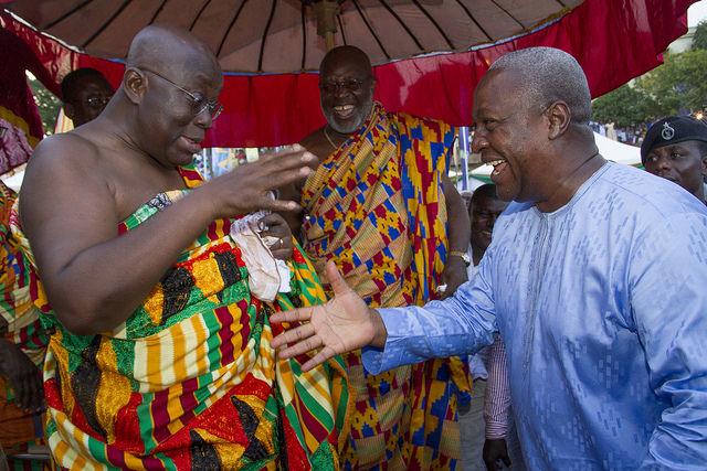 Akufo-Addo meets Mahama, Kufuor and Rawlings today