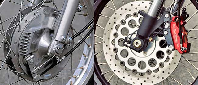 Penyebab Rem Motor Bunyi Berdecit dan Solusinya