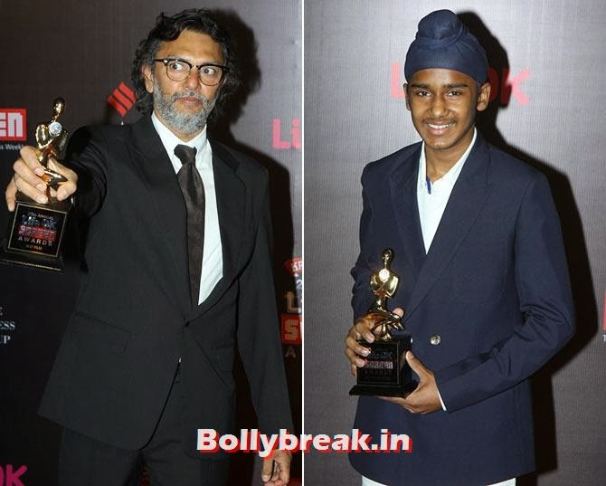 Raykesh Omprakash Mehra and Japtej Singh, Life Ok Screen Awards 2014 Red Carpet Photos