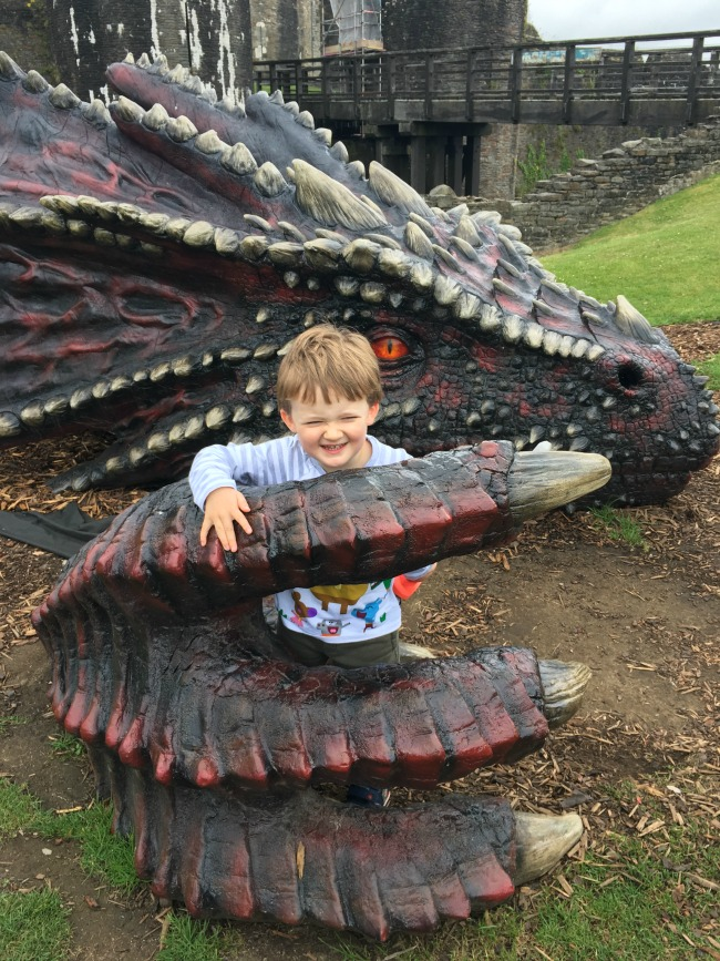 Our-Weekly-Journal-17th-July-2017-Knights-and-Sleepovers-toddler-at-caerphilly-Castle
