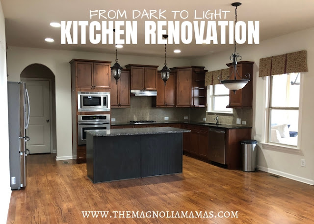 Kitchen Renovation: Going from Dark to Light