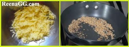 आम का अचारी लच्छा रेसिपी | How to Make Grated Mango Pickle Recipe in hindi