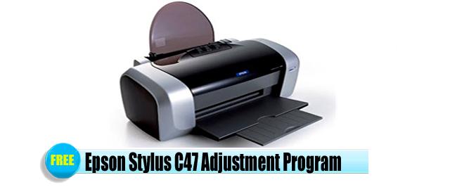 Epson Stylus C47 Adjustment Program