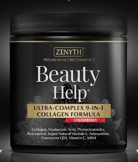 Comanda de aici Beauty Help Zenyth pudra cu colagen care infrumuseteaza