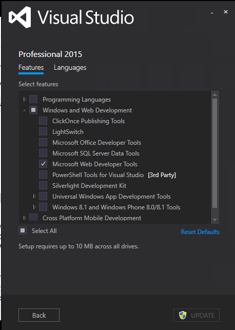 Jan David Narkiewicz (Developer): Visual Studio 2015: Error