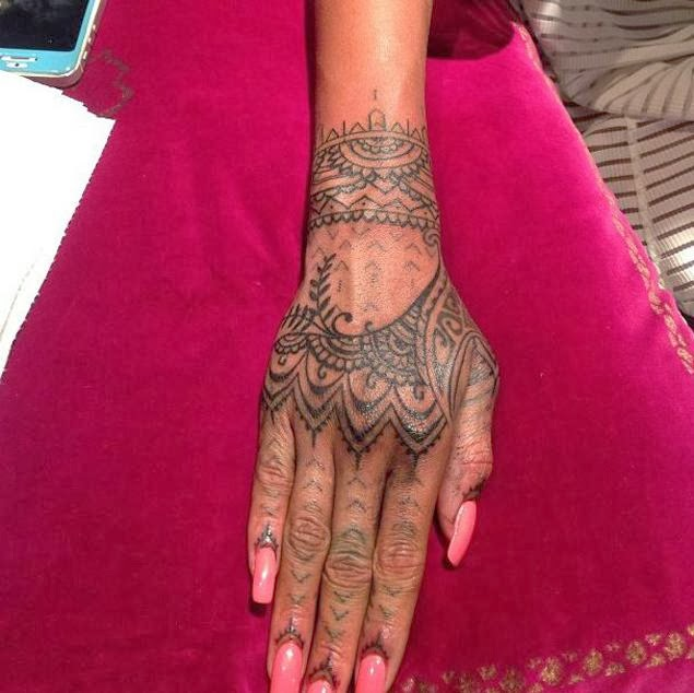Rihanna Henna Tattoo Video